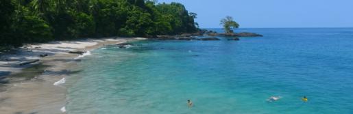Playa Blanca Pacífico colombiano