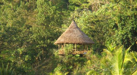 Instalaciones Hotel El Almejal en el pacifico colombiano