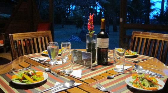 Restaurante Hotel El Almejal en el pacifico colombiano