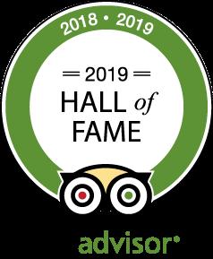 Hall of Fame Tripadvisor 2019 - El Almejal