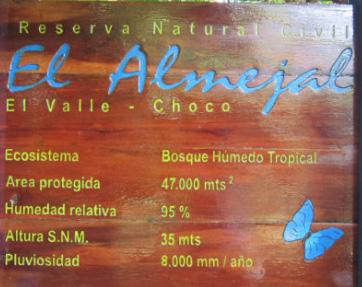 Reserva Natural El Almejal - Bahía Solano